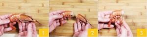 как се чистят скариди